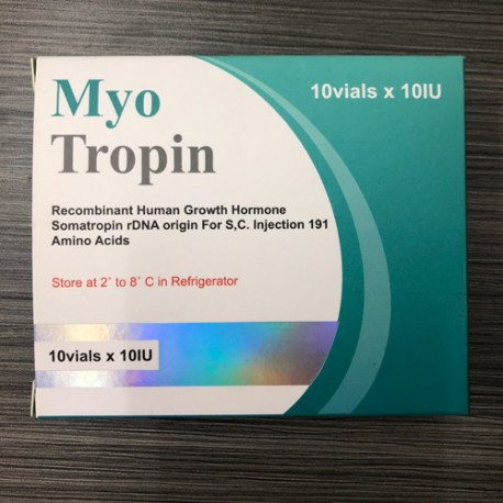 MYOTROPIN 100IU HGH KIT